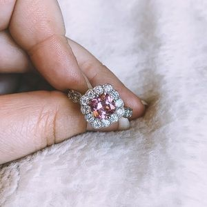 Jewelry - Pink Flower-Inspired Ring